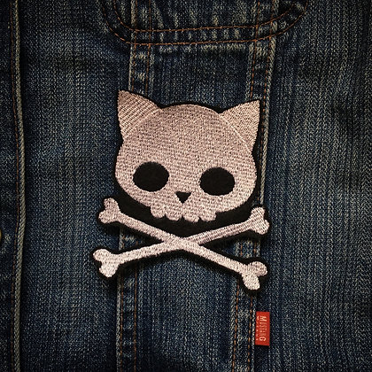 Skelly Kitty Patch