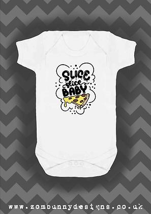 Slice Slice Baby Pizza Baby Vest