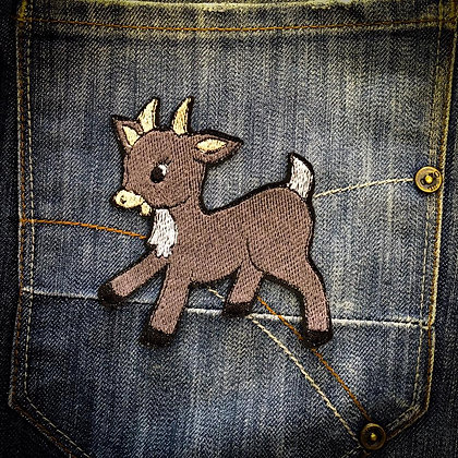 Baby Goat Patch