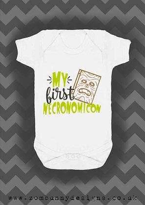 my first Necronomicon baby vest