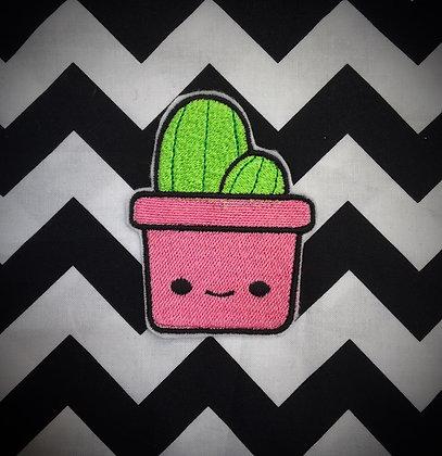 Cute Kawaii Cactus Patch