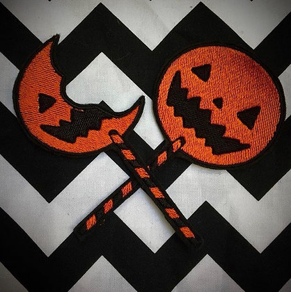 Trick r Treat Sam Lolly's Patch (both supplied)