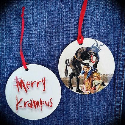 Happy Krampus Hanging Decoration