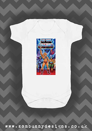 Masters of the Universe baby vest