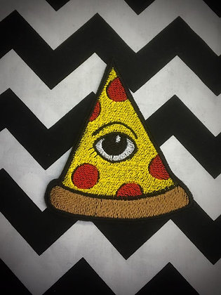 All seeing eye, pizza Patch