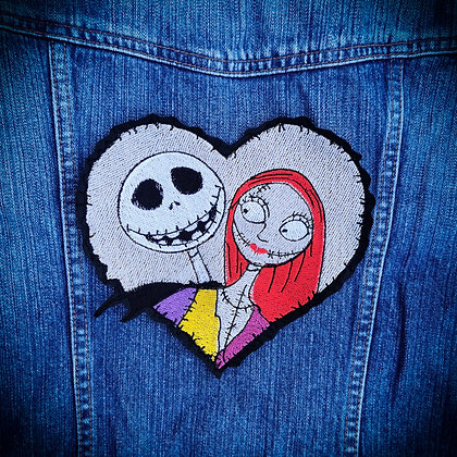 Jack and Sally Large Patch