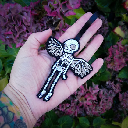 Winged Skeleton Hanging Decoration