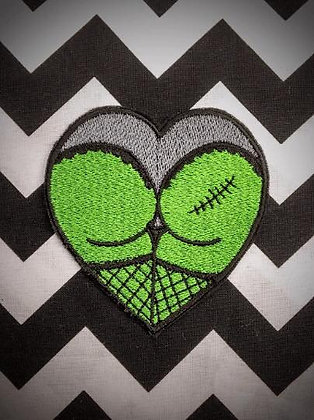 Zombutt Patch in Green