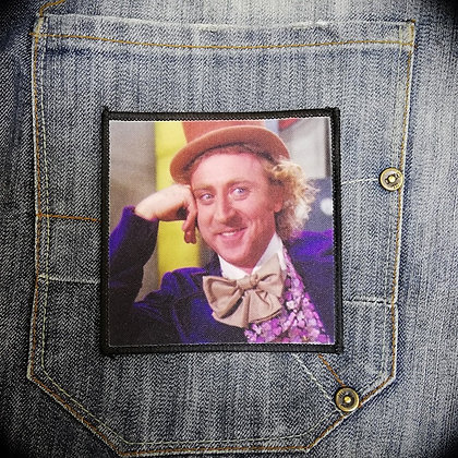 Condescending Wonka Printed Patch