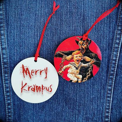 Red Krampus Hanging Decoration