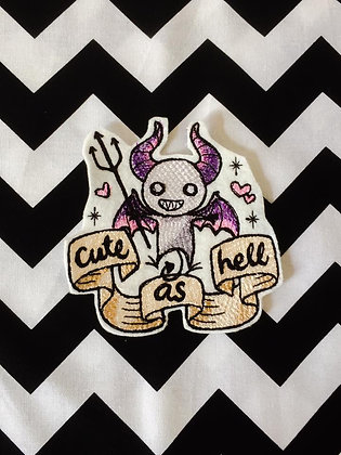 Cute as Hell Patch