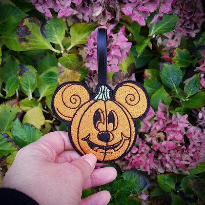 Pumpkin Mickey Hanging Decoration