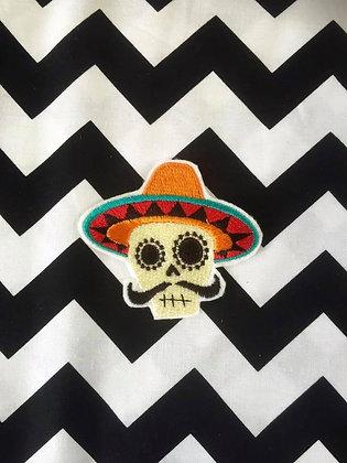 Fiesta Skull Patch