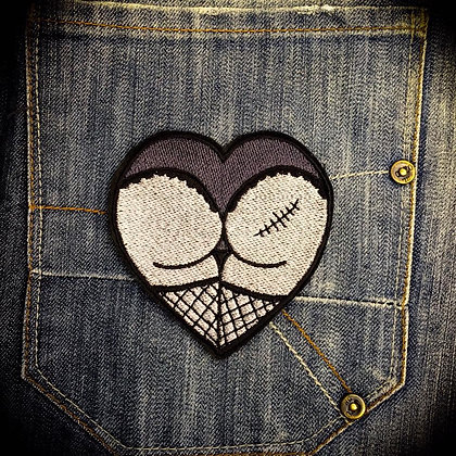 Zombutt Patch in Grey