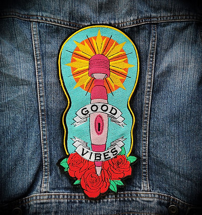 Good Vibes Large Patch