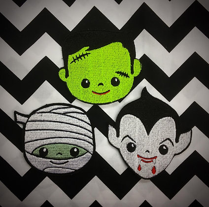 Cute B movie Patch (one supplied)