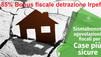 SISMA BONUS Riduci il rischo sismico con detrazioni fino all'85% delle spese di ristrutturazione del