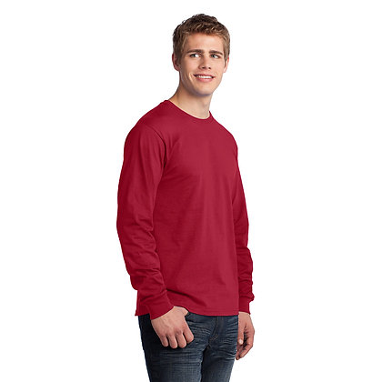 PC - Long Sleeve Core Cotton Tee - Red