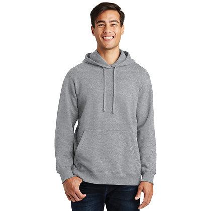 PC Fan Favorite™ Fleece Pullover Hooded Sweatshirt-Athletic Heather