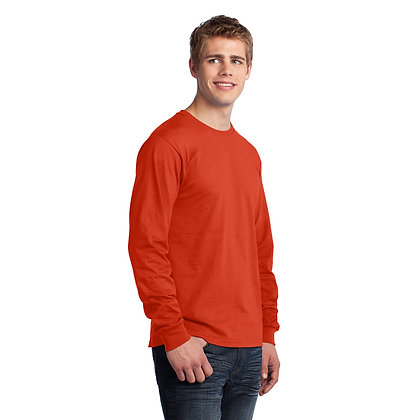 PC - Long Sleeve Core Cotton Tee - Orange