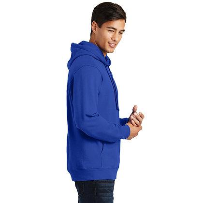 PC Fan Favorite™ Fleece Pullover Hooded Sweatshirt-Royal
