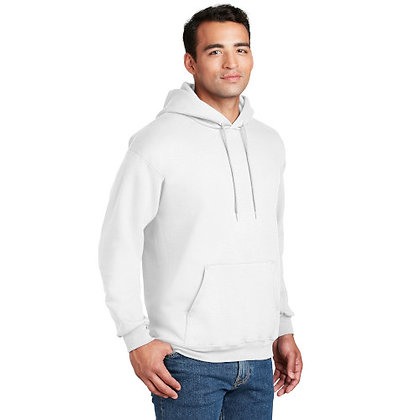 Hanes® Ultimate Cotton® - Pullover Hooded Sweatshirt-White