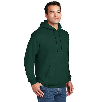 Hanes® Ultimate Cotton® - Pullover Hooded Sweatshirt-Deep Forest