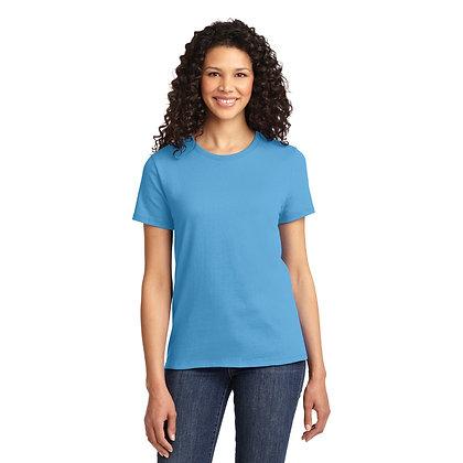PC - Ladies Essential Tee - Aquatic Blue