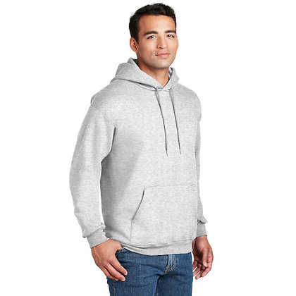 Hanes® Ultimate Cotton® - Pullover Hooded Sweatshirt-Ash