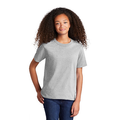 PC -Youth Core Cotton Tee - Ash