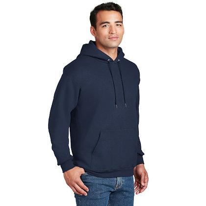 Hanes® Ultimate Cotton® - Pullover Hooded Sweatshirt-Navy
