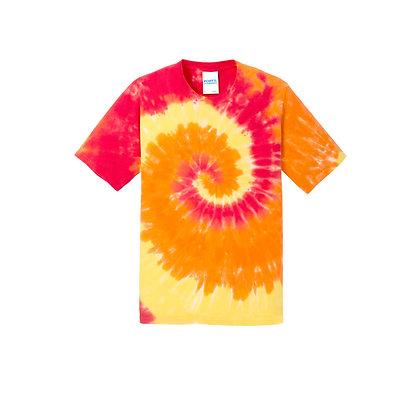 PC - Youth Tie-Dye Tee - Blaze Rainbow