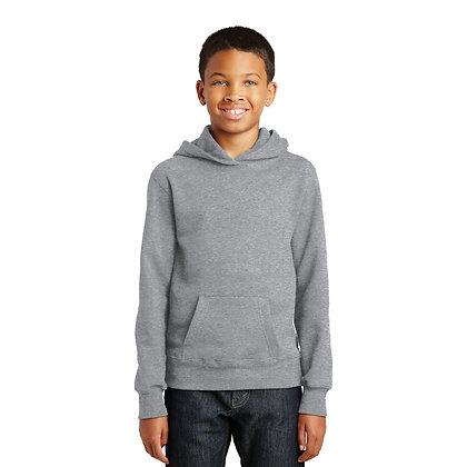 PC Youth Fan Favorite™ Fleece Pullover Hooded Sweatshirt Athletic Heather