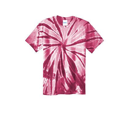 PC - Youth Tie-Dye Tee - Maroon