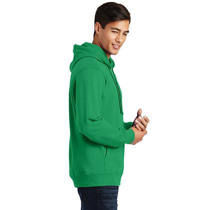 PC Fan Favorite™ Fleece Pullover Hooded Sweatshirt-Kelley Green