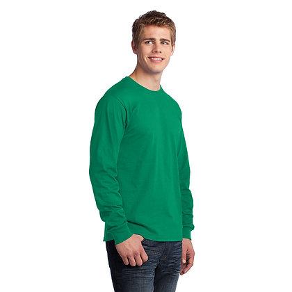 PC - Long Sleeve Core Cotton Tee - Kelly Green