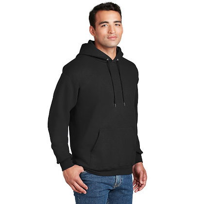 Hanes® Ultimate Cotton® - Pullover Hooded Sweatshirt-Black