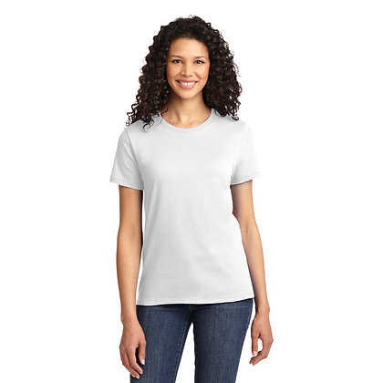 PC - Ladies Essential Tee - White