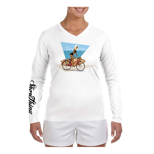 Bike Girl Performance Shirt