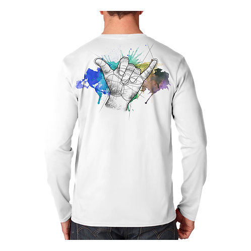Shaka Watercolor Performance Shirt