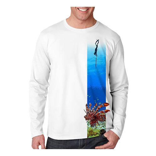 Dive Down Lionfish Performance Shirt