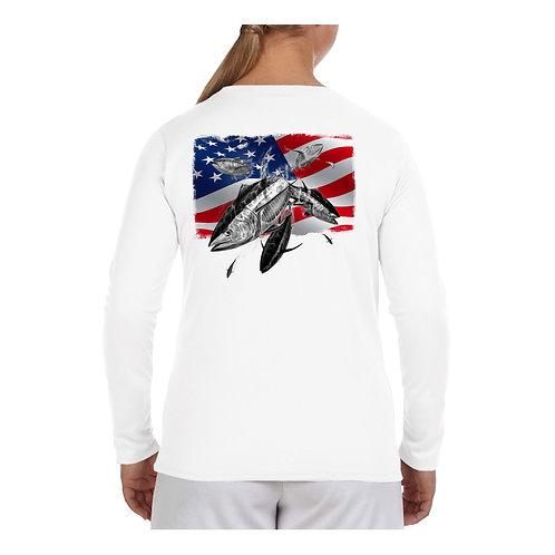 USA Flag Tuna Performance Shirt