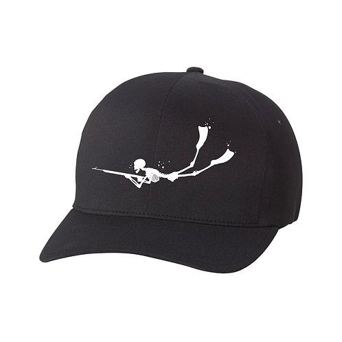 Speargun Skeleton Performance Hat