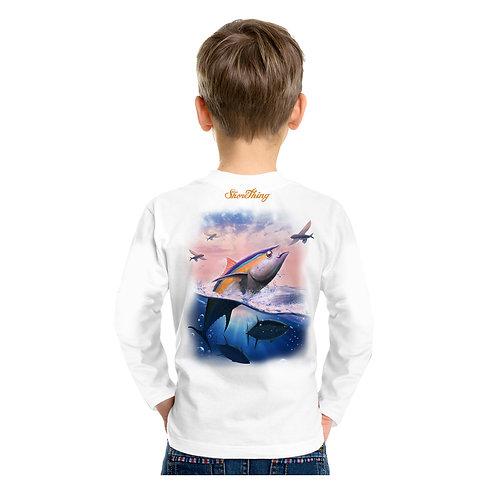 Yellowfin Tuna Jump Performance Shirt