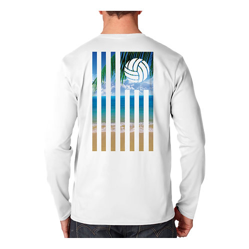 Volley Beach Flag Performance Shirt
