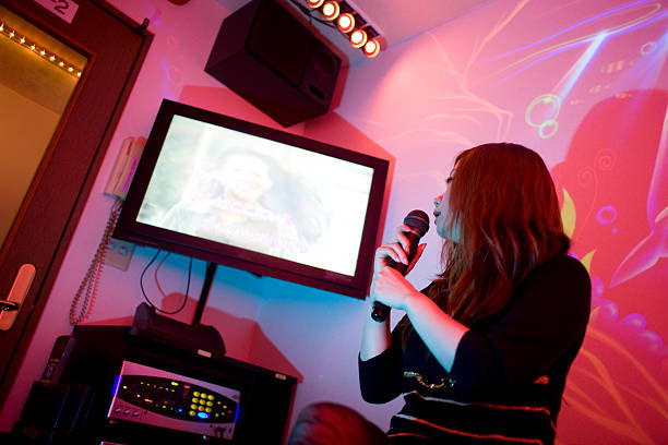 Karaoke with television!