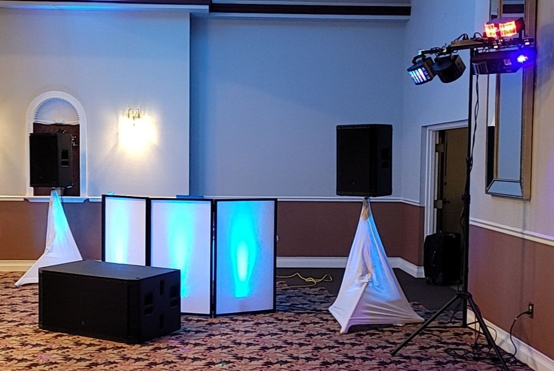 Advanced Wedding Package with subwoofer
