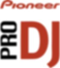 DJ brand Pioneer Pro DJ logo