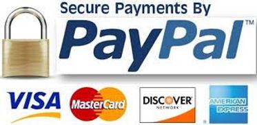 paypal visa mastercard discover american express