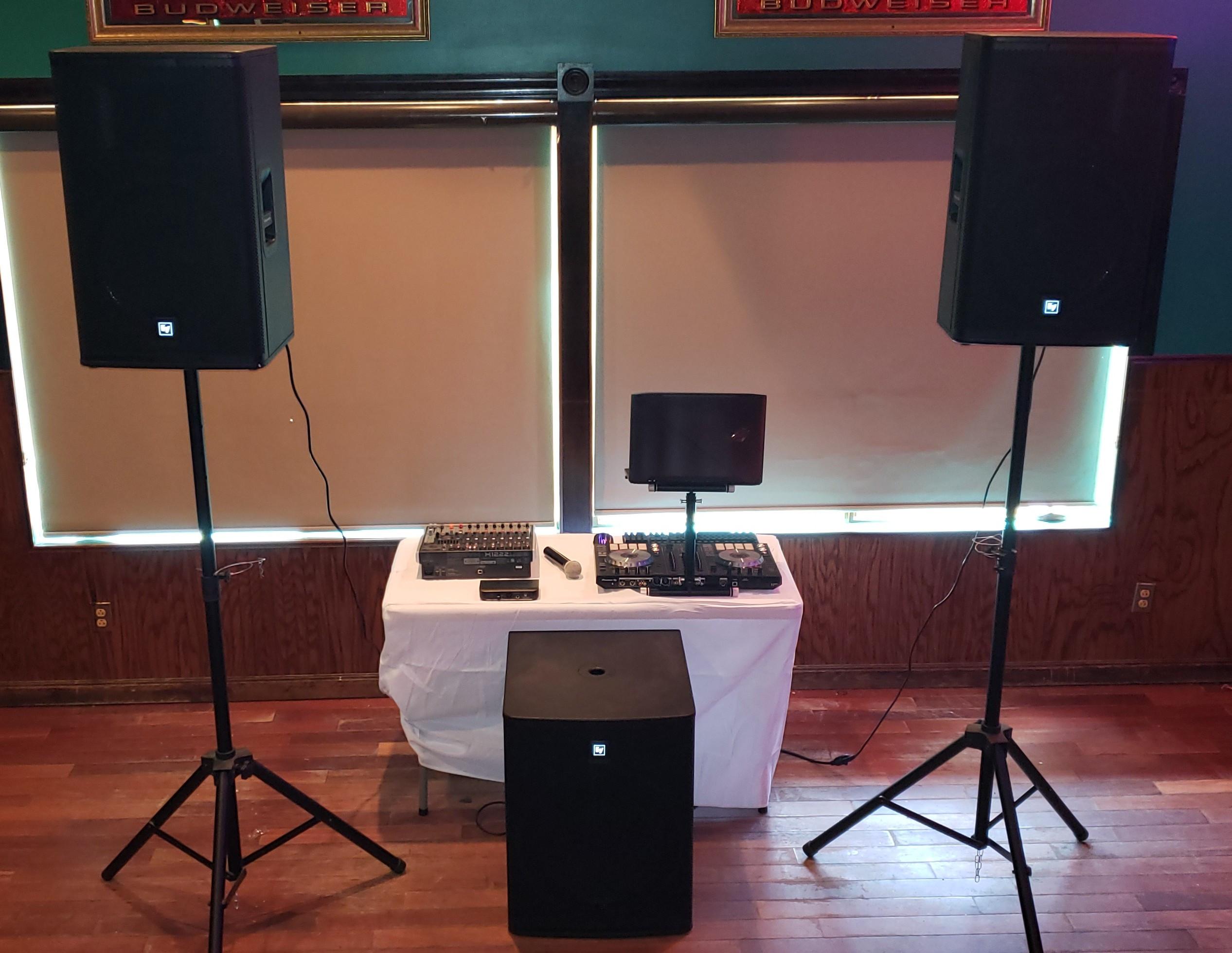 DJ & Entertainment Service (50 People)